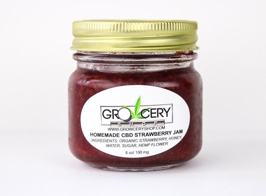 CBD Strawberry Jam 4oz
